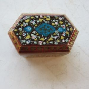Small Ornate Wood Box